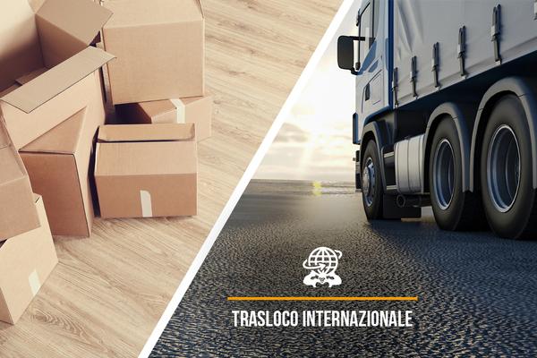 Servizio di trasloco internazionale per privati ed aziende